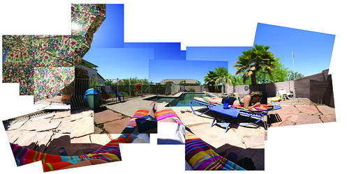 Poolside Panorama Picture Puzzle