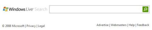 Windows Live Search