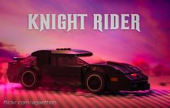 Knight Rider (Agaethon29) Tags: lego afol legography brickography legophotography minifig minifigs minifigure minifigures toy toyphotography macro cinematic 2017 knightrider legodimensions dimensions car legocar kitt michaelknight