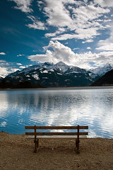 Brighter Days in Zell am See (violinconcertono3) Tags: lake mountains alps water landscape austria zellamsee zellersee