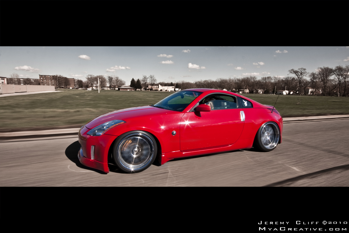 Hella Flush & Boosted 350z