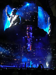 U2 (C. Orrico) Tags: adam rock night u2 banda luces noche concert concierto bono estadio larry edge nocturna azteca corrico