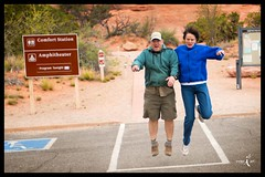 Hey Parentals, Jump! (inneriart) Tags: family camping boy sunset woman man male nature girl lady female mom outdoors photography parents utah amazing hilarious jumping nikon funny dad artist natural emotion hiking unique fineart creative husband arches saltlakecity adobe american passion wife southernutah redrock archesnationalpark democrats freelance lark umping inneri hannahgalliinneri nikond300s photoshopcs5 photographyinneri inneriart innereyeart inneri wholehannah inneriartcom httpinneriartcom