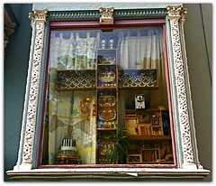 A Cake Decorator's Window (goofcitygoof) Tags: sf sanfrancisco windows foundinsf alexandrajones goofcitygoof httpsfbulldogcomalexandra goofcitygraphix httpgoofcitycom httpmayorjonestumblrcom