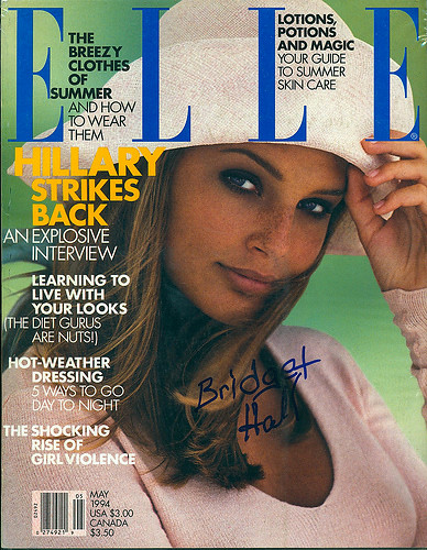 1994, May , ELLE, Bridget Hall