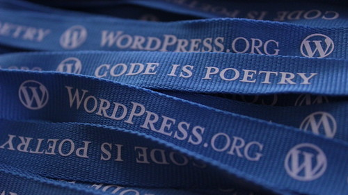WordPress Foundation Lanyards by Alexander Gounder, on Flickr