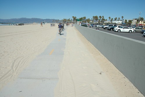 Venice Beach Bicycle Path