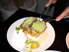 手工捲餅(抹茶紅豆)