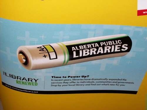 The Alberta Library marketing materials