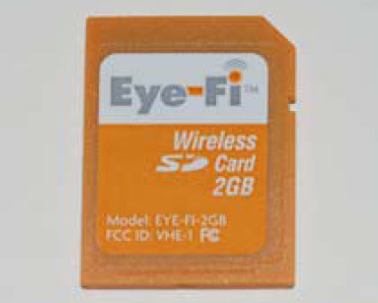 eye fi memoria sd wi fi