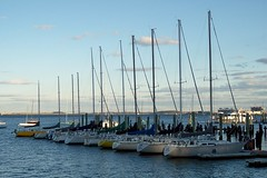 Docked (joijeeper) Tags: sky water boston harbor boat dock flickr five mast yachts sailboats favs flickrsbest fiveflickrfavs