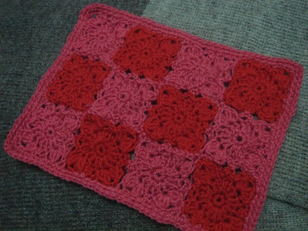flower place mat by leianess.