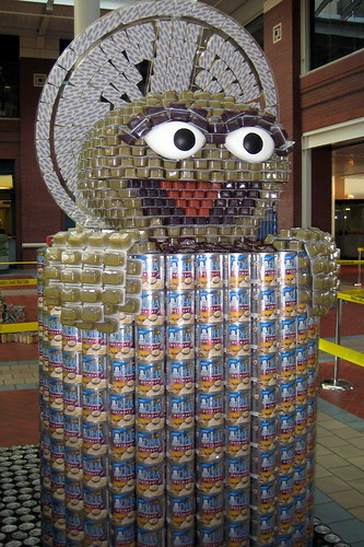 9th Annual New Jersey Canstruction Competition - Oscar