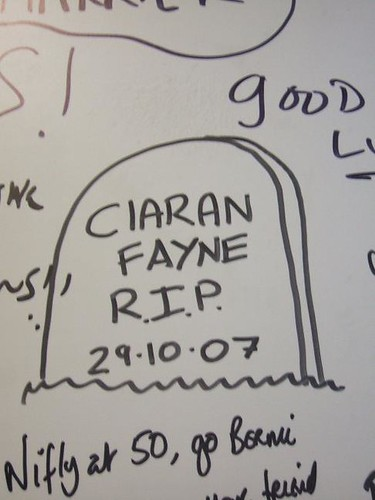 I hope Ciaran made it!