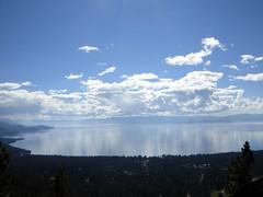 Heavenly (dcwriterdawn) Tags: lake mountains beach water sand village horizon nevada bluewater tahoe laketahoe aspens breathtaking clearwater highaltitude valleys aspentrees inclinevillage