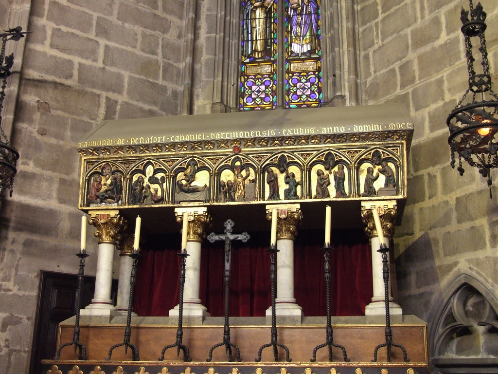 Sepulcre de Sant Ramon de Penyafort