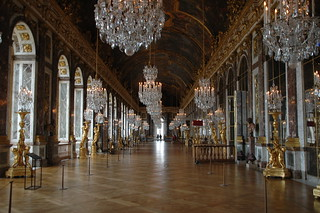The Hall of Mirrors in Versailles