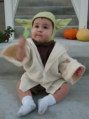 Yoda warding off evil
