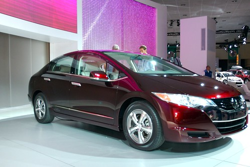 Hydrogen fuel cell vehicle