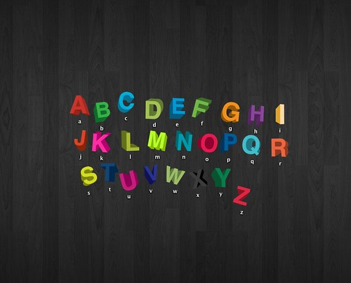 Alphabet Icon Pack