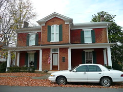 Murfreesboro, TN Childress-Ray House (army.arch) Tags: house green home architecture tn historic porch shutters preservation redbrick historicdistrict italianate greekrevival historichouse nationalregister murfreesborotennessee nationalregisterofhistoricplaces nrhp