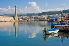 Rethymno harbour (macropoulos) Tags: lighthouse port reflections geotagged harbor boat topf50 500v20f harbour greece 500v50f crete canonef35mmf2 gettyimages rethymno supershot 1500v60f 1000v40f flickrsbest mywinners abigfave canoneos400d aplusphoto 50faves50comments500views diamondclassphotographer betterthangood onephotoweeklycontest geo:lat=35371083 geo:lon=2447623 flickrtrip20071202 gettyimages:date_added=pre20110607