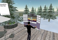 Sneeuw in Second Life