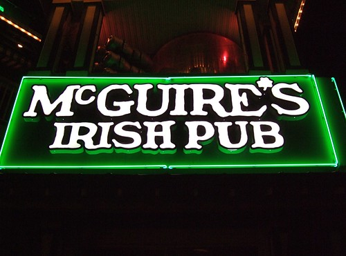 Dominic McGuire's Irish Pub - flickr/Laughing Squid