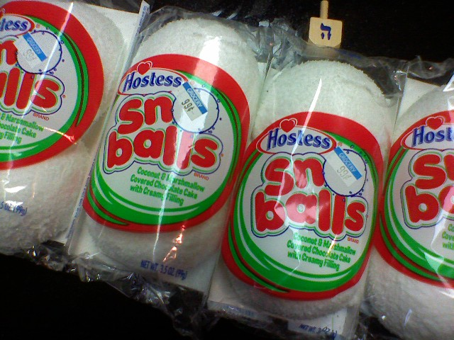 Hostess Sno-Balls
