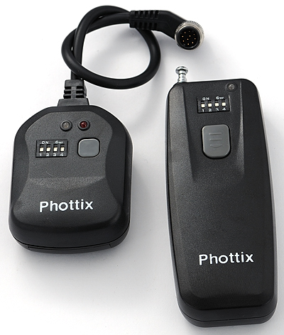 Phottix Wireless Remote Control -- Set of Transmitter and Receiver