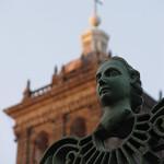 Puebla: Detalle de la Catedral