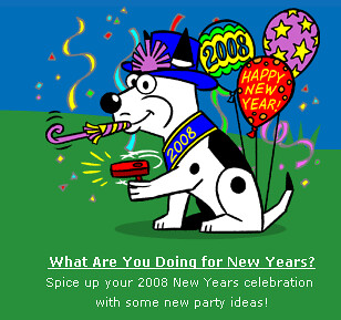 Dogpile New Year Theme