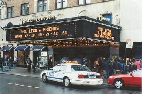 Beacon Theatre marquee - Phil Lesh and Friends, April 2000