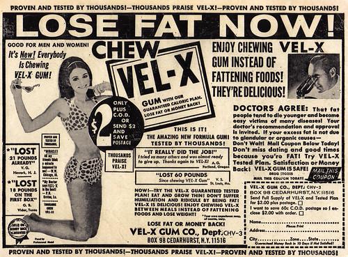 Vintage Ad #457: Chew Vel-X
