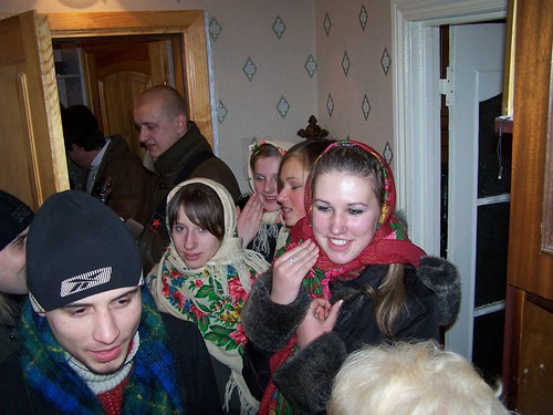 Christmas Carolers at Olya's