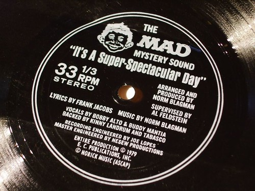 Mad Magazine Flexidisc