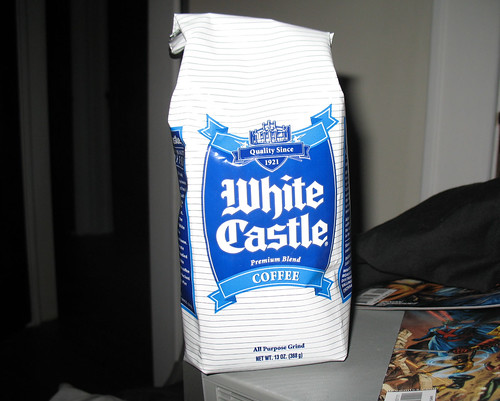 And then I came home to White Castle coffee!!!