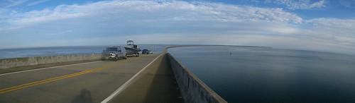 Daufin Island bridge, Alabama, USA