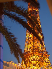 Vegas Eiffel (virginiapoet) Tags: vegas tower monument gold lights golden evening lasvegas dusk nevada eiffeltower palmtree electricity planethollywood electrictower parishotel lasvegasstrip goldendoor emmalazarus electrictorch goldentower motherofexiles lasvegaseiffeltower lasvegaseiffel thenewcolosseus