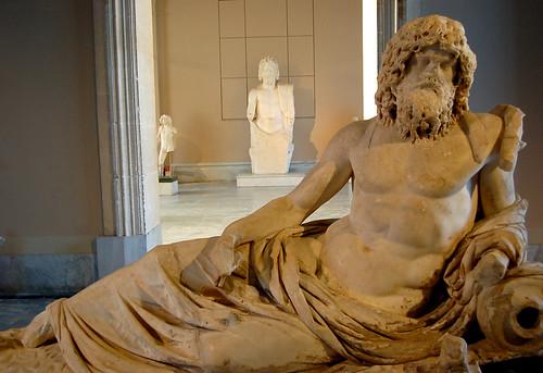 Oceanus (with Zeus in the background)