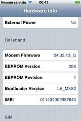 ispazio hwinfo hardware info iphone ipod touch