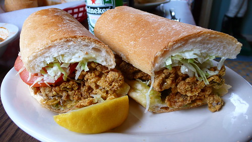 Fried Oyster Po´ boy