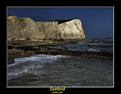 seaford (kvalitka) Tags: sea sky water rock sand cliffs betterthangood proudlychopped