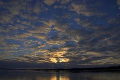Ottawa River Winter Sunset (klattu01) Tags: winter sunset sky snow cold reflection ice water skyline night clouds river scenery nightshot ottawa shoreline bluesky hdr ottawariver