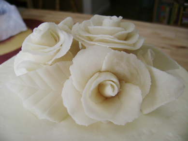 class wedding cake topper