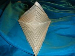 Hyperbolic parabola (BabyMuggy) Tags: art origami paperfolding