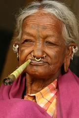 india - orissa (Retlaw Snellac Photography) Tags: travel portrait people woman india tourism tattoo canon photography photo women tattoos tribe tatoo orissa femmes tatuaje theface mywinners odisha lanjiasaora noseringthefeminine