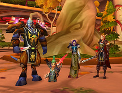 Tourists in an Instance (Batty aka Photobat) Tags: warcraft sunwell newinstance