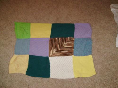 D's Crazy Baby Blanket