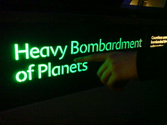 Heavy Bombardment of Planets